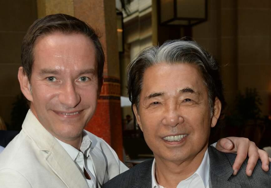 Xavier Brunet et Kenzo Takada