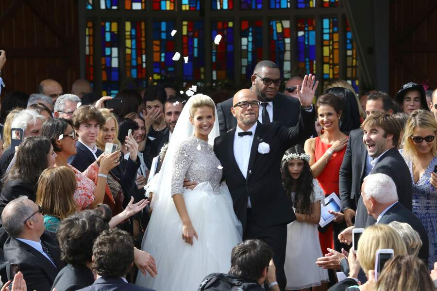 Pascal Obispo a épousé sa belle Julie Hantson au Cap Ferret à la fin de l'été