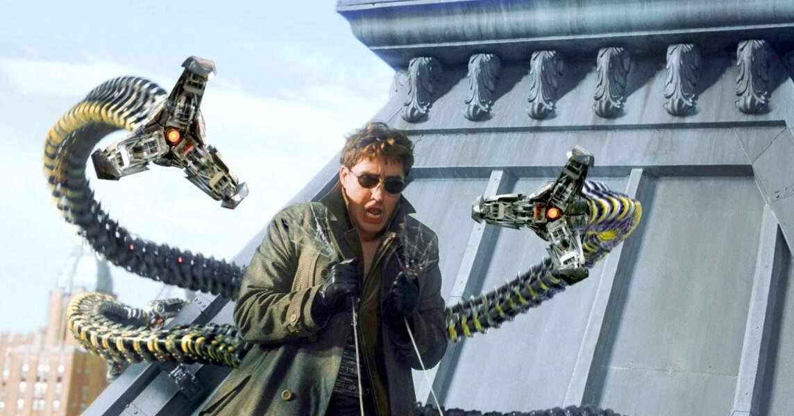 Avec ses inventions et sa connaissance de la physique nucléaire le docteur Octopuss n'est pas à prendre à la légère