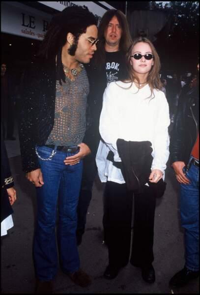 Vanessa et Lenny Kravitz
