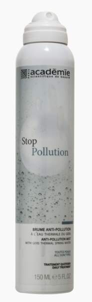 Brume Anti-Pollution, Stop Pollution, Académie Scientifique de Beauté, 30,70 €
