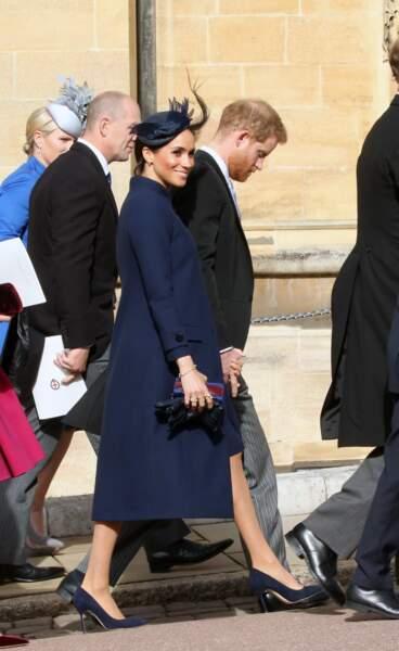 Au mariage d'Eugénie d'York, Meghan Markle portait de nombreuses bagues à chaque doigt.