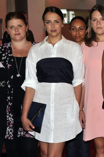 Pauline Ducruet lors du traditionnel gala au profit de l'association Fight Aids Monaco