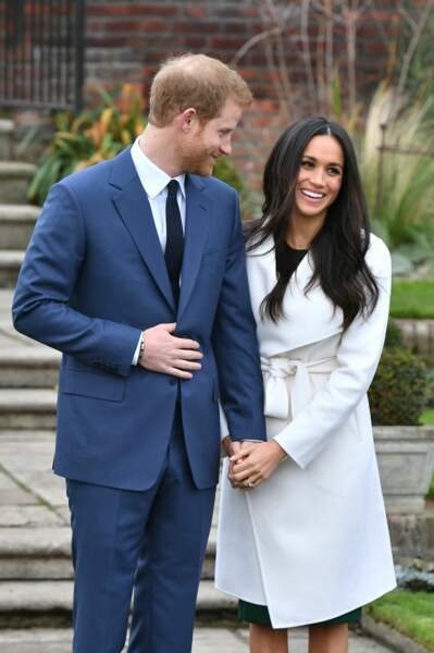 Les premières photos officielles du prince Harry et de Meghan Markle