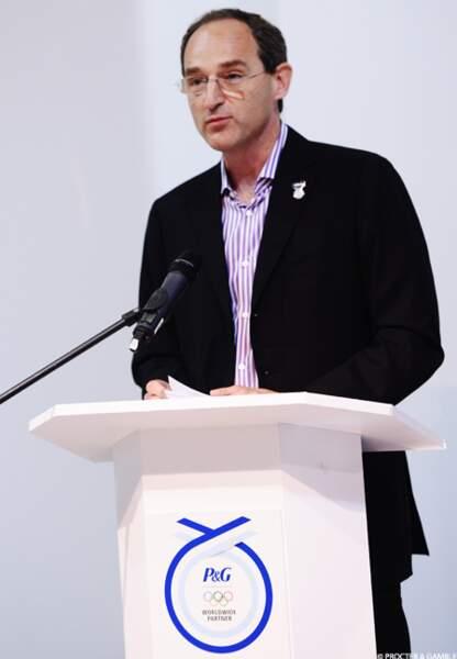 Patrice Louvet, président de Gillette, une marque de P&G