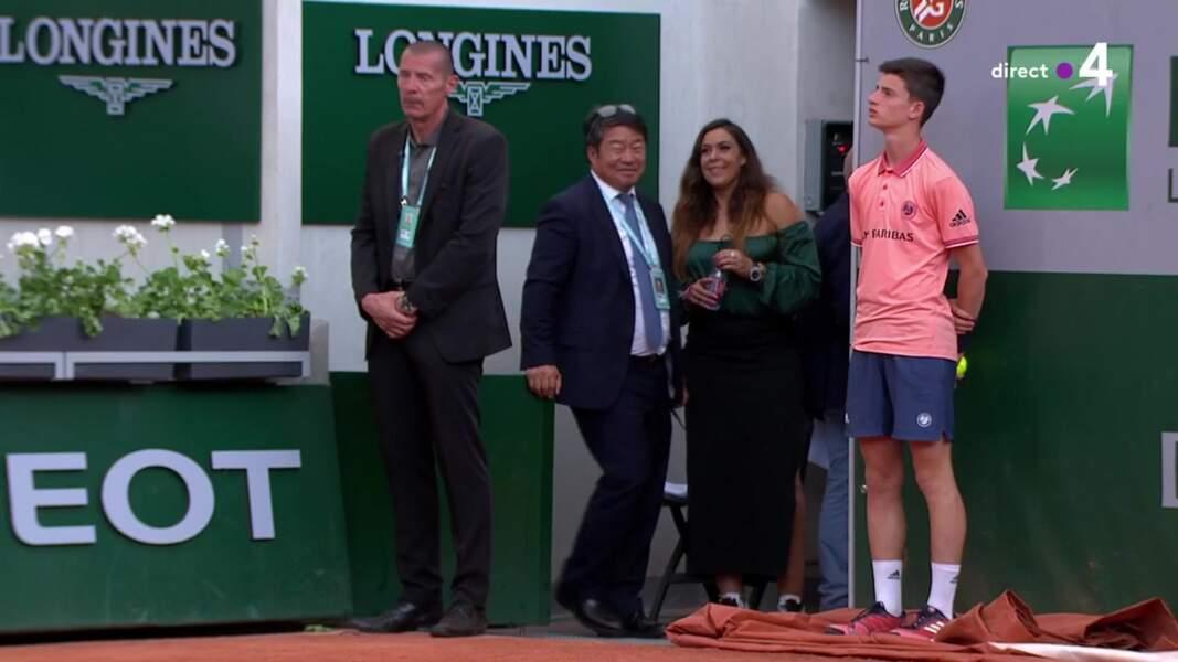 Marion Bartoli n'est pas passée inaperçue à Roland-Garros