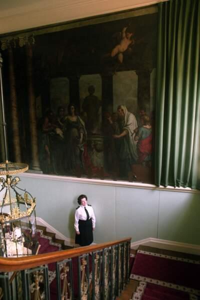 On y retrouve également de nombreuses peintures de maîtres, comme celle-ci de Louis Laguerre