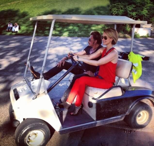 En tournée à Lyon. C'est madame qui conduit. Juin 2012