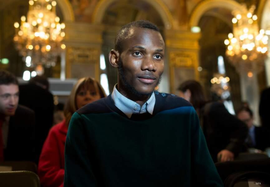 Un discours émouvant sous les yeux du héros Lassana Bathily