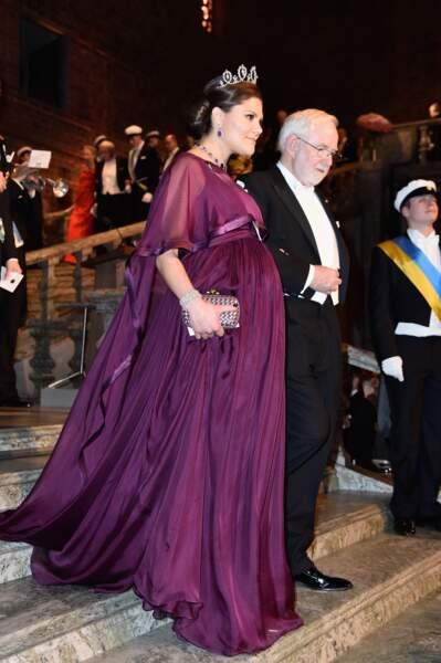 Début septembre, la princesse Victoria de Suède annonce attendre son deuxième enfant