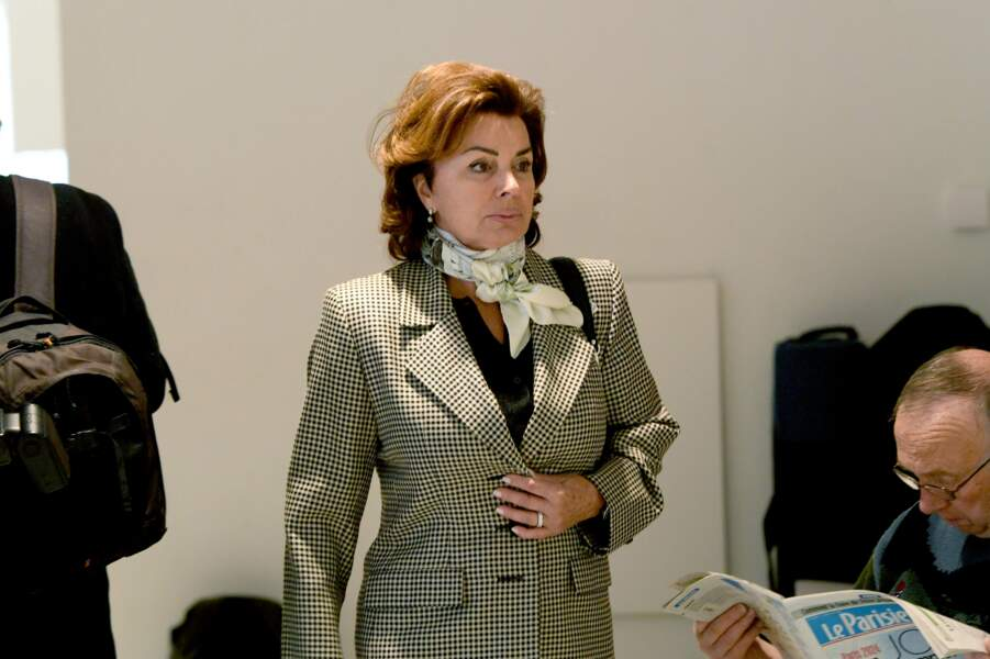 Dominique Tapie au tribunal correctionnel de Paris, le 4 avril 2019