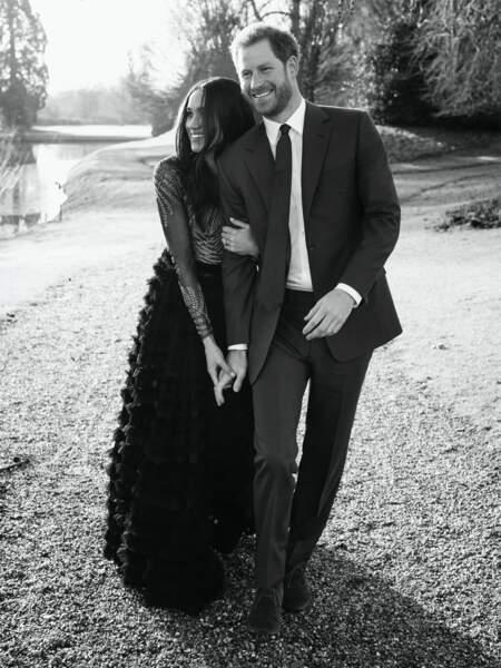Les photos officielles de ses fiançailles avec Harry ont elles été réalisées à Frogmore House