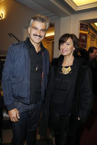François Vincentelli et Mathilda May
