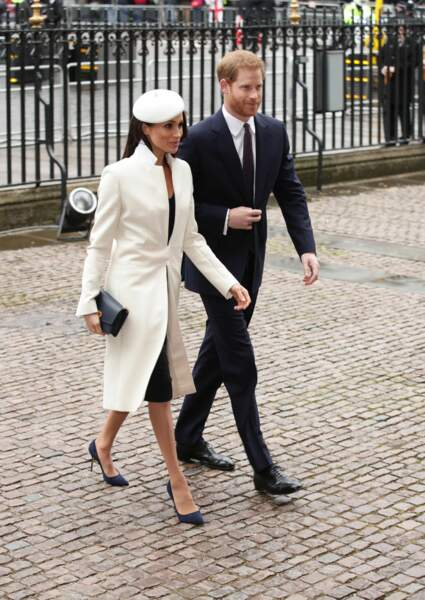 Prince Harry et Meghan Markle, un couple uni et très élégant
