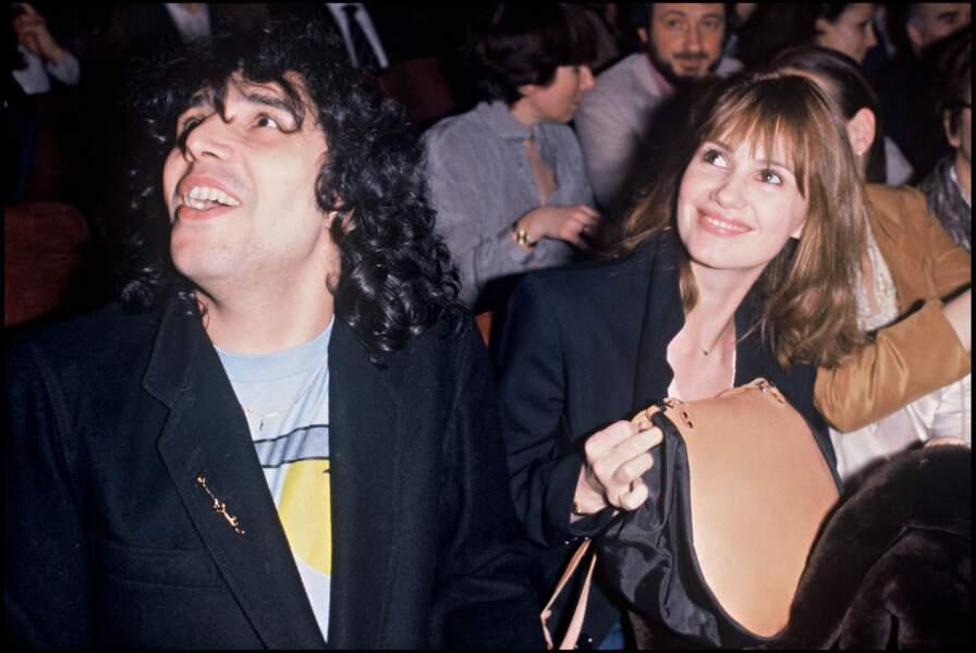 Julien Clerc et Miou-Miou amoureux, en 1979