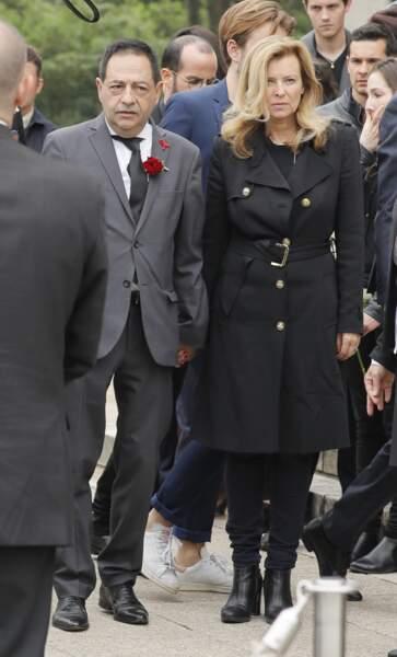 Valérie Trierweiler faisait partie des invités lors du mariage de Christophe Michel et Jean-Luc Romero