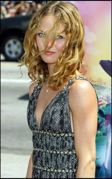 Vanessa paradis, cheveux très bouclés ici à Hollywood, en 2005