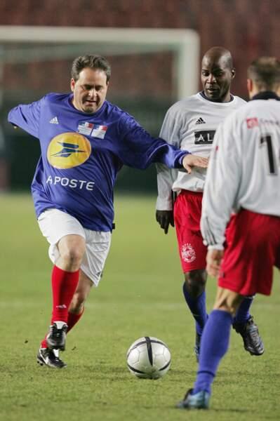 Xavier Bertrand en pleine action en 2006