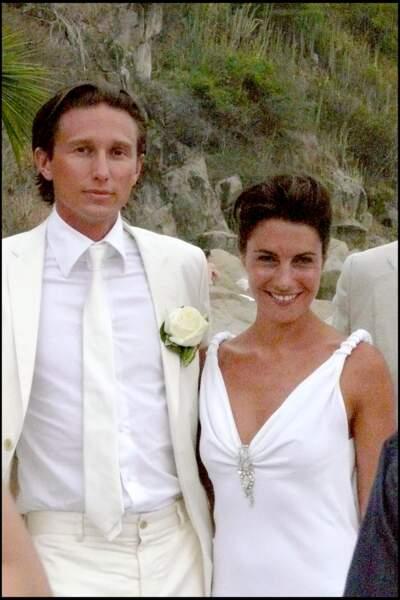 Alessandra Sublet et Thomas Volpi, fraichement mariés