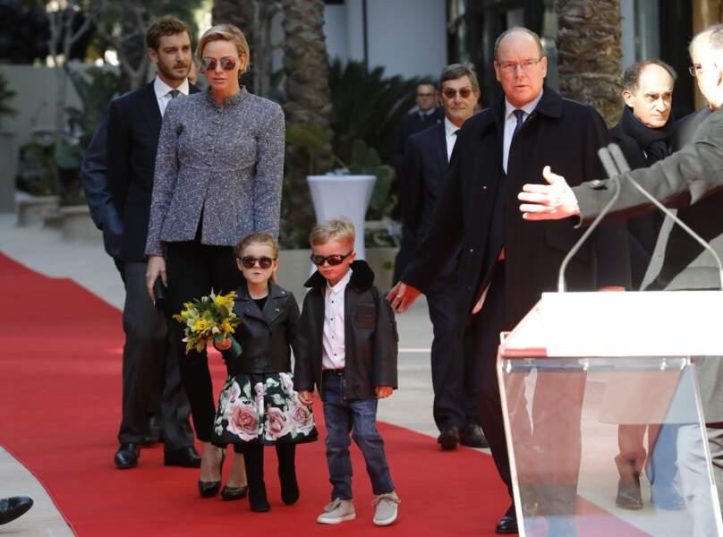 À seulement 4 ans, les jumeaux Jacques et Gabriella sont déjà sur les tapis rouges