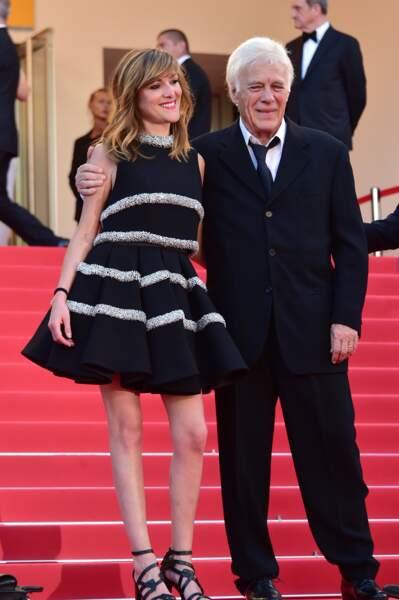 Victoria Bedos et son père Guy au Festival de Cannes