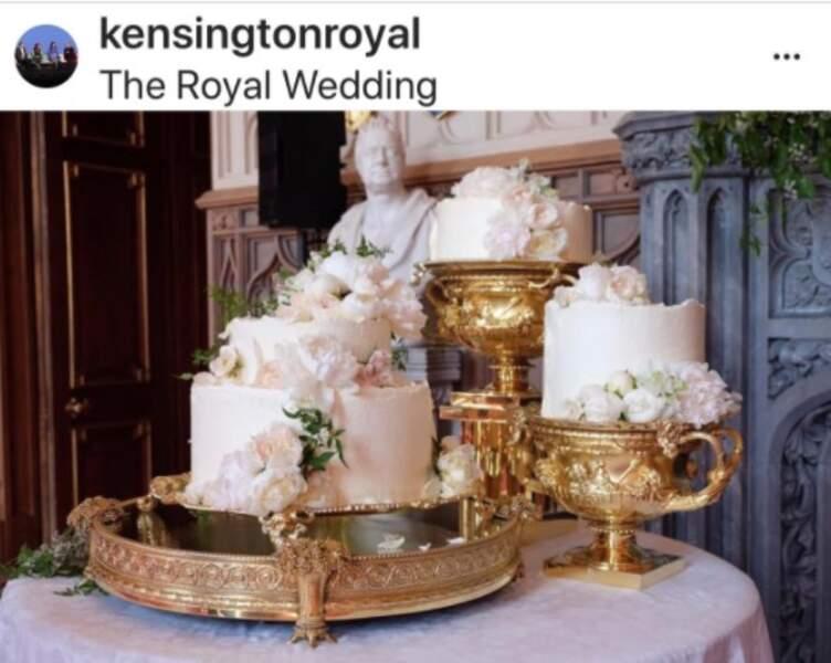 Gâteau du mariage de Meghan et Harry