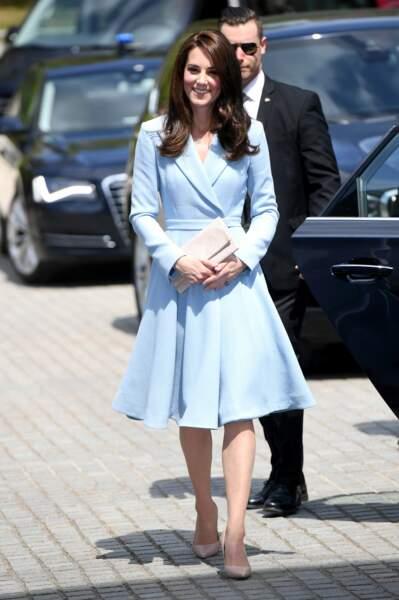 En voyage officiel en solo au Luxembourg, Kate Middleton a encore prouvé qu'elle était la duchesse du style.