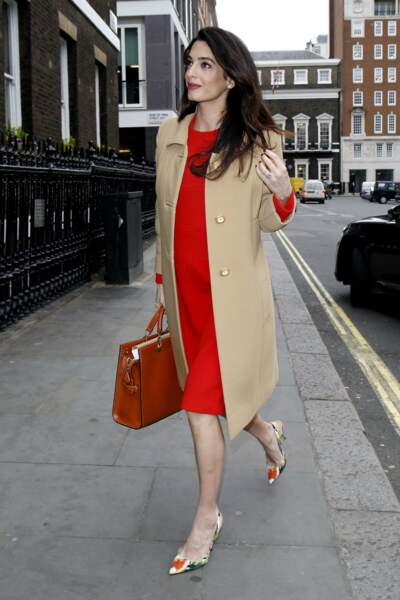 Amal Clooney out and about, London, UK - 29 Mar 2017