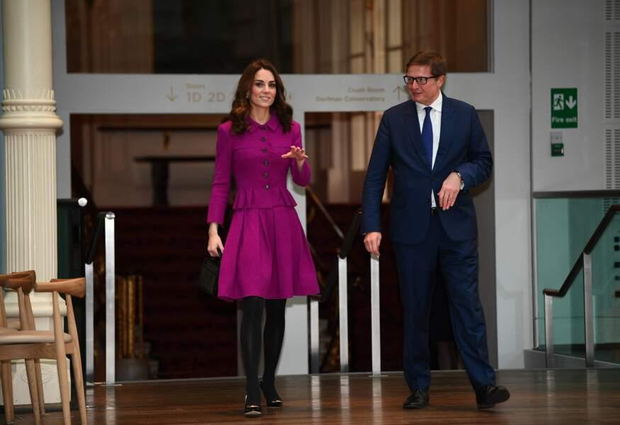 Kate Middleton recycle son ensemble Oscar de la Renta déjà porté en 2017