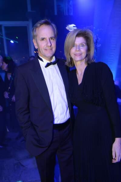 Bernard de la Villardière et Anne de Savignac, très élégants en janvier 2015