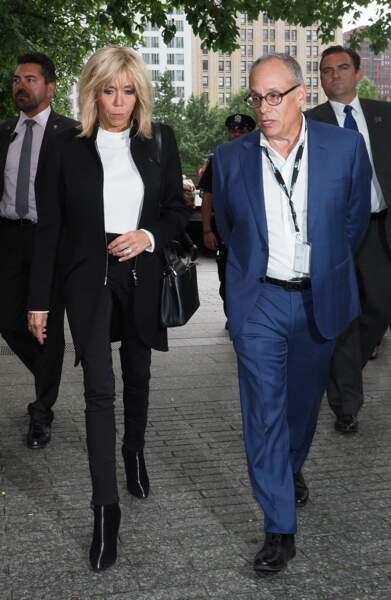 Brigitte Macron visite le Mémorial du 11-septembre à New York