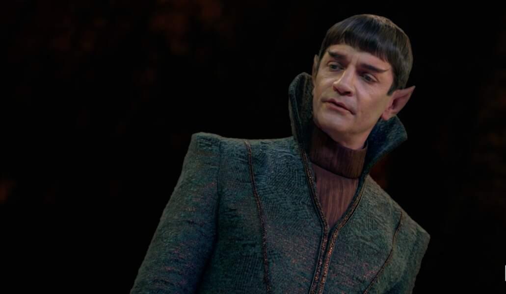 James Frain incarne Sarek, le père de Spock, dans la série Star Trek Discovery