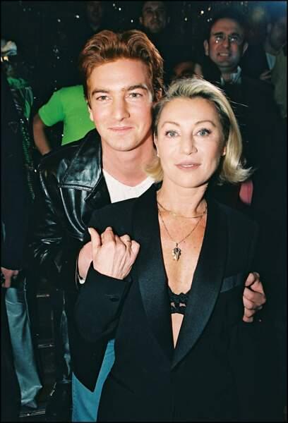 Sheila et son fils, Ludovic Chancel au Queen