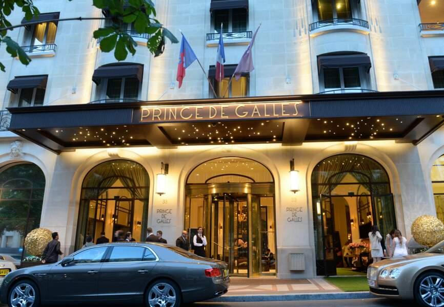 L'hôtel du Prince de Galles