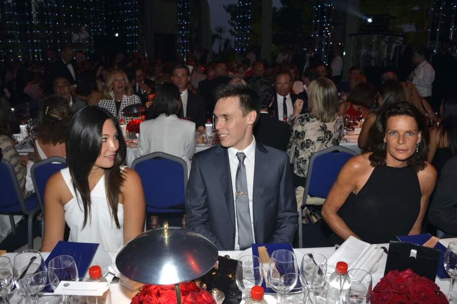 2015 : Première photo officielle du couple avec Stéphanie de Monaco quatre ans après leur rencontre