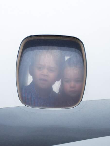 George et sa soeur ont déjà accompagné leurs parents dans des voyages officiels au bout du monde.