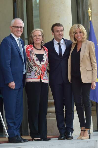 Nuance beige pour la visite du premier ministre australien