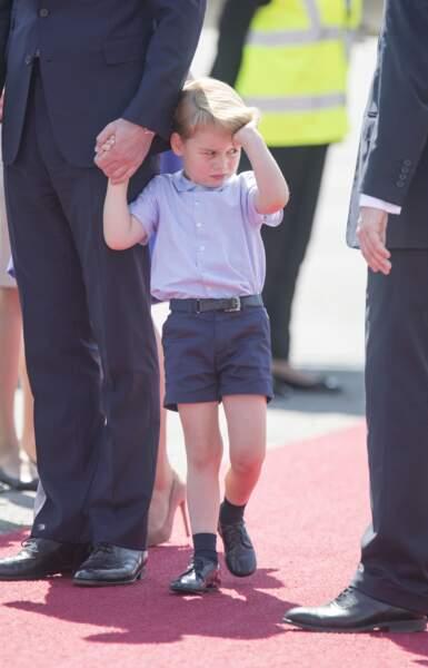 Le prince George en a marre