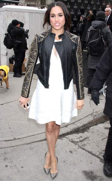 Meghan Markle pourra faire les prochaines fashion weeks avec sa belle-soeur Kate Middleton