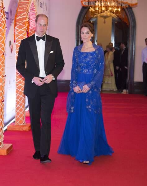 Kate & William lors du Gala Bollywood Charity, au Taj Mahal Palace - ABACA