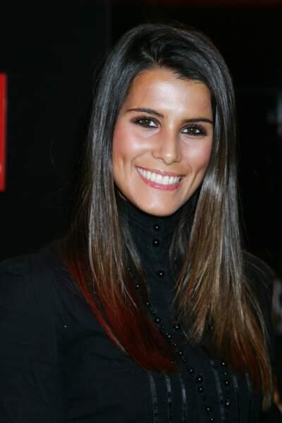 Karine Ferri à la conférence de presse de rentrée de la chaîne TF6 à Paris en 2007