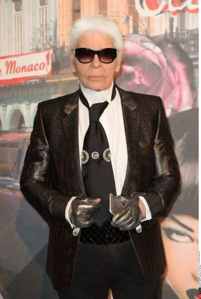 Un incontournable du Bal de la Rose: monsieur Karl Lagerfeld en personne!