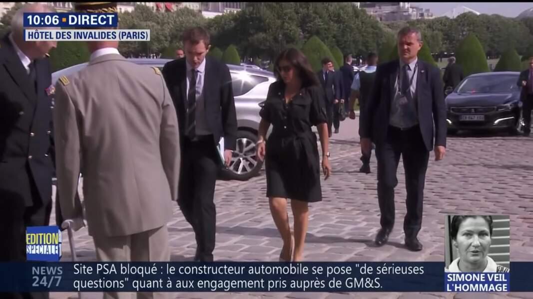 Obsèques de Simone Veil : la maire de Paris Anne Hidalgo