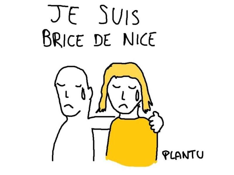 Plantu s'est fendu d'un autre dessin pour exprimer sa tristesse.