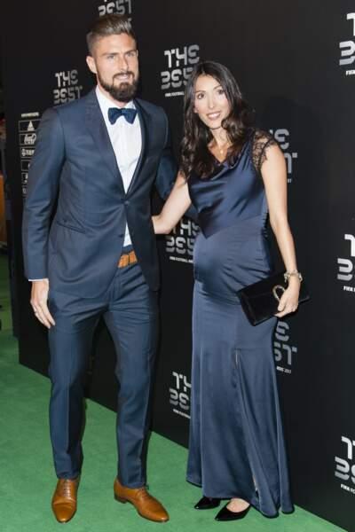 Olivier Giroud et Jennifer sont mariés depuis 2011