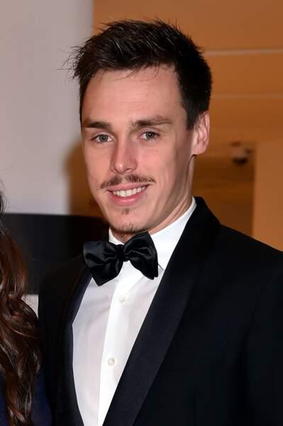 Louis Ducruet pendant la 15ème édition des Golden Foot Hublot Award à Monaco le 7 novembre