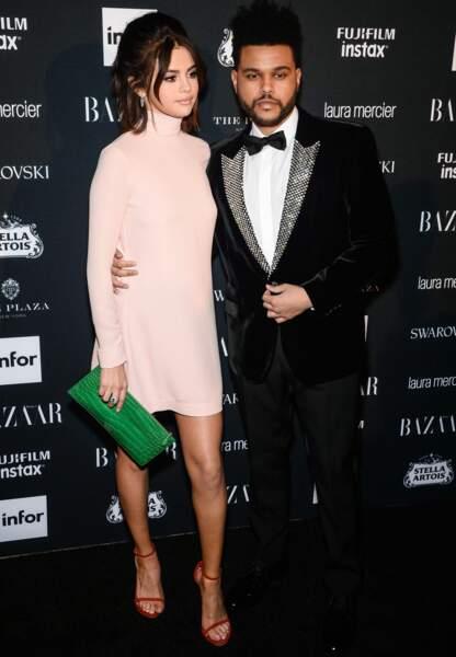 Le couple a fait sensation lors de la soirée « Harper's Bazaar Icons by Carine Roitfeld » organisée à New York.