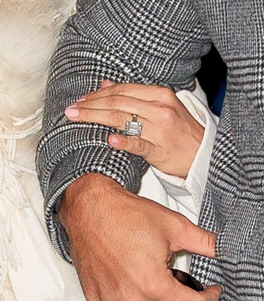 La bague de fiançailles de Jennifer Lopez