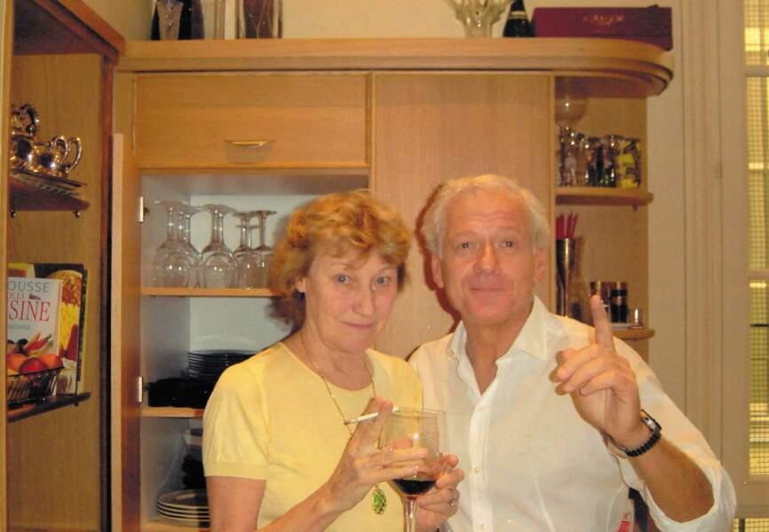 Avec Maurizio Remmert, le père biologique de Carla