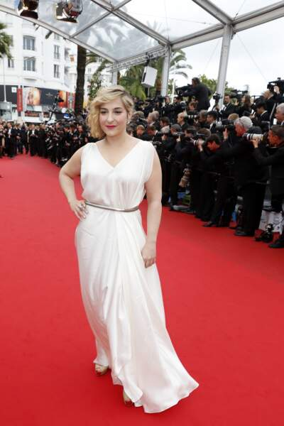"""Au Festival de Cannes en 2013, lors de la montée des marches du film """"Jeune et Jolie"""""""